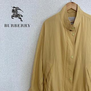 バーバリー(BURBERRY)の【レア】バーバリー トップス 薄手 カーディガン 黄色 ヴィンテージ(カーディガン)