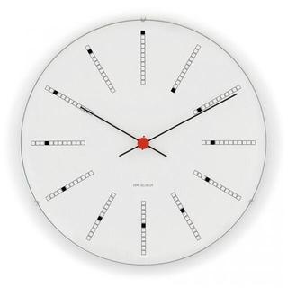 アルネヤコブセン(Arne Jacobsen)の⭐️新品未使用 アルネヤコブセン 壁掛け時計 バンカーズクロック 21cm(掛時計/柱時計)