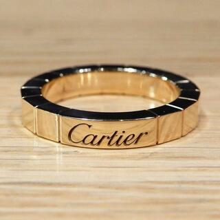 カルティエ(Cartier)の新品同様 カルティエ 研磨済み ラニエールリング 45 5号 K18YG(リング(指輪))