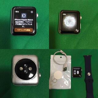 Apple Watch - Apple Watch 7000 シルバー 42ミリ