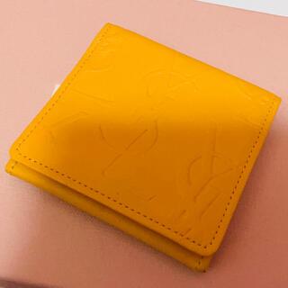 サンローラン(Saint Laurent)の美品⭐️ Yves Saint Laurent ミニ財布 小銭ケース(コインケース)