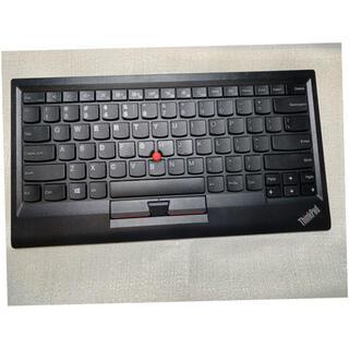 レノボ(Lenovo)のlenovo bluetoothキーボード 品番KT-1255(PC周辺機器)