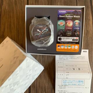カシオ(CASIO)の新品未使用 wsd-f10 プロトレック スマートウォッチ(腕時計(デジタル))
