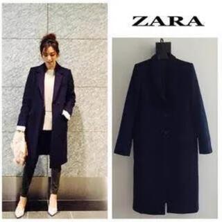 ZARA - 【 新品 ZARA 】チェスターコート コート ロングコート ステンカラーコート