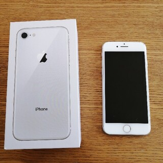 アイフォーン(iPhone)のiPhone8 64GB white(スマートフォン本体)