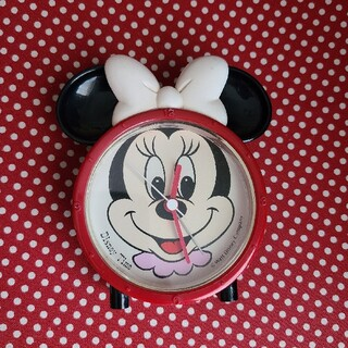 ディズニー(Disney)のディズニー ミニー 置時計(置時計)