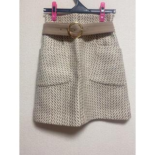 Lily Brown - リリーブラウン 台形スカート