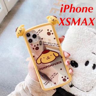 ポムポムプリン(ポムポムプリン)の★期間限定セール!★サンリオ ポムポムプリン iPhoneXSMAXケースミラー(iPhoneケース)