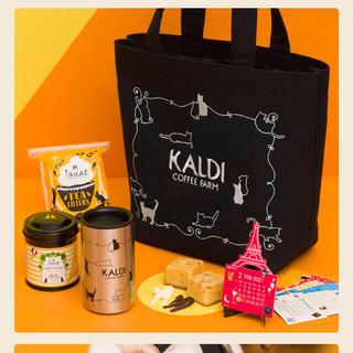 KALDI - カルディ 猫の日バッグ プレミアム  抜き取りなし