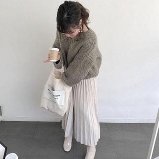 ロングプリーツスカート ♡ no brand 【値下げ】(ロングスカート)