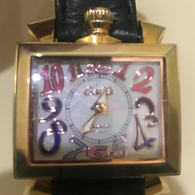 GaGa MILANO(ガガミラノ)のガガミラノナポレオーネ40ミリ レディースのファッション小物(腕時計)の商品写真