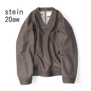 SUNSEA - stein Oversized V Neck Pullover ブルゾン ニット