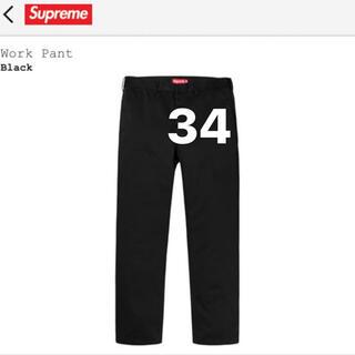 Supreme - supreme work pant 黒 34
