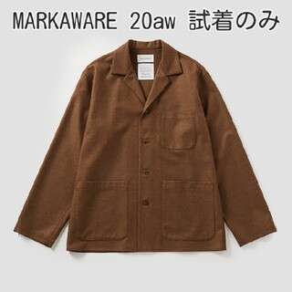 MARKAWEAR - MARKAWARE 20aw オーガニックウール フランネル シャツジャケット