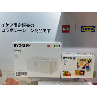 イケア(IKEA)の【ブロック&ボックスセット】BYGGLEK ビッグレク レゴブロック&ボックス(積み木/ブロック)