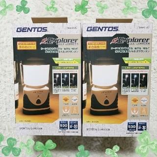 ジェントス(GENTOS)のGENTOS LED ランタン 2個セット(ライト/ランタン)