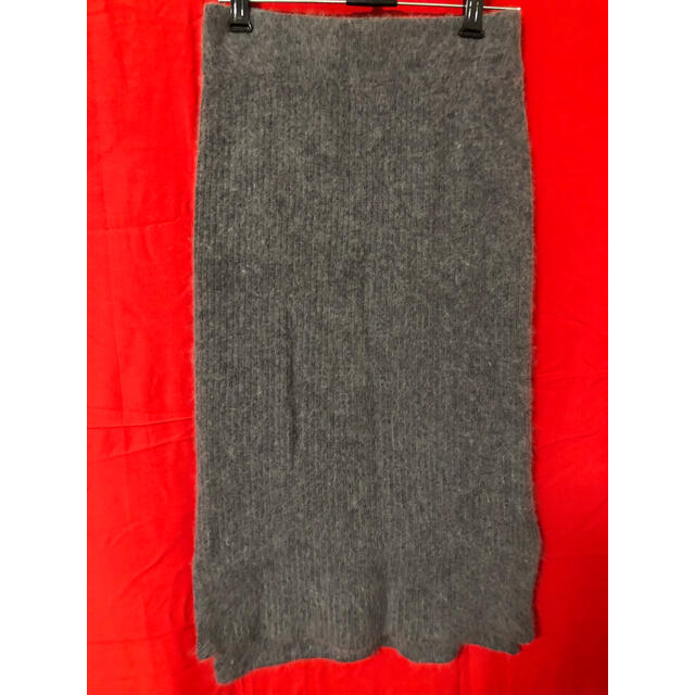 CORTES WORKS(コルテスワークス)のコルテワークス ニットリブタイトスカート レディースのスカート(ひざ丈スカート)の商品写真