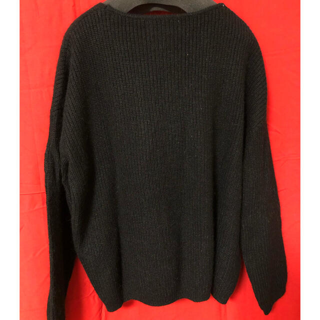 MINIMUM(ミニマム)のミニマム 黒ニットセーター レディースのトップス(ニット/セーター)の商品写真