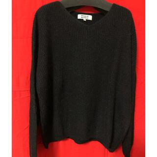 ミニマム(MINIMUM)のミニマム 黒ニットセーター(ニット/セーター)
