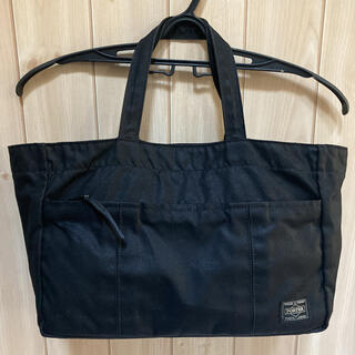 PORTER - 美品❣️PORTER ポーター 布トートバッグ 黒