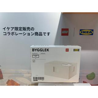 イケア(IKEA)の BYGGLEK ビッグレク レゴ®ボックス ふた付き, 26x18x12 cm(積み木/ブロック)