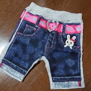 mikihouse - だまし絵 ハーフパンツ 80 ミキハウス 半袖ズボン