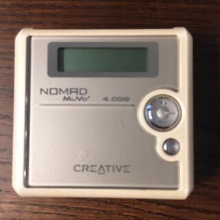 クリエイティブリクリエーション(CREATIVE RECREATION)のGW限定 Creative クリエイティブ muvo2 プレーヤー 4GB(ポータブルプレーヤー)