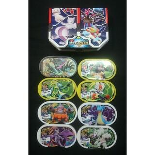 ポケモンメザスタ ポケモンタグ8枚収納ケース付 スターターセット プレイ用(その他)