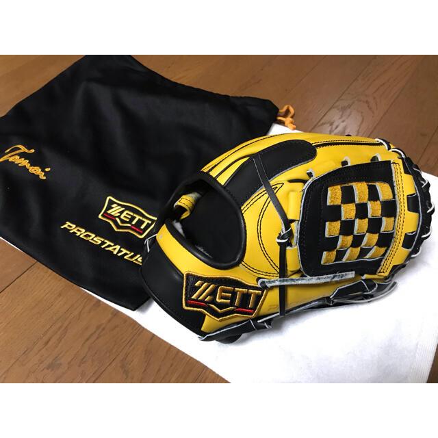 ZETT(ゼット)のZETT  プロステイタス 軟式 オーダー グローブ グラブ 野球 スポーツ/アウトドアの野球(グローブ)の商品写真
