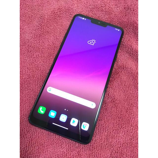 LG Electronics(エルジーエレクトロニクス)のLG G7 ThinQ SIMフリー スマホ/家電/カメラのスマートフォン/携帯電話(スマートフォン本体)の商品写真