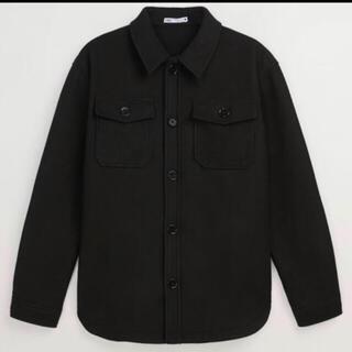 ザラ(ZARA)のZARA フランネルテイストシャツジャケットXL(ブルゾン)