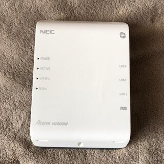 NEC - wifiルーターAtermWF800HP