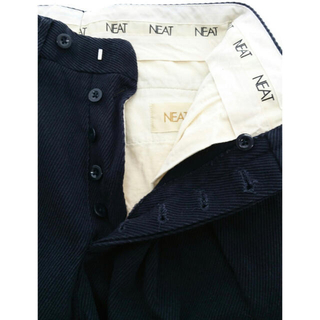 COMOLI - NEAT 19AW Cotton Karsey Wide   ネイビー