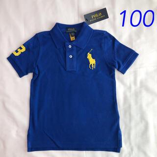 ラルフローレン ビッグポニー 半袖ポロシャツ 3T/100