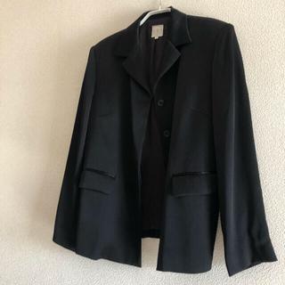 レリアン(leilian)のJUNIOR 44サイズ ブラックフォーマルスーツ(スーツ)