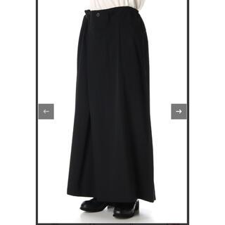 Yohji Yamamoto - 2020SS ヨウジヤマモト ウールギャバ スカートパンツ