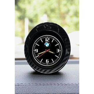 アウディ専用精巧でコンパクトな炭素繊維車内時計(車内アクセサリ)