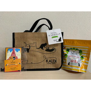 KALDI - KALDI  カルディ 猫 猫の日 バッグ