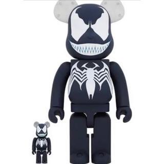ヴェノム ベアブリック 400% 100% スパイダーマン おもちゃ 限定品(キャラクターグッズ)