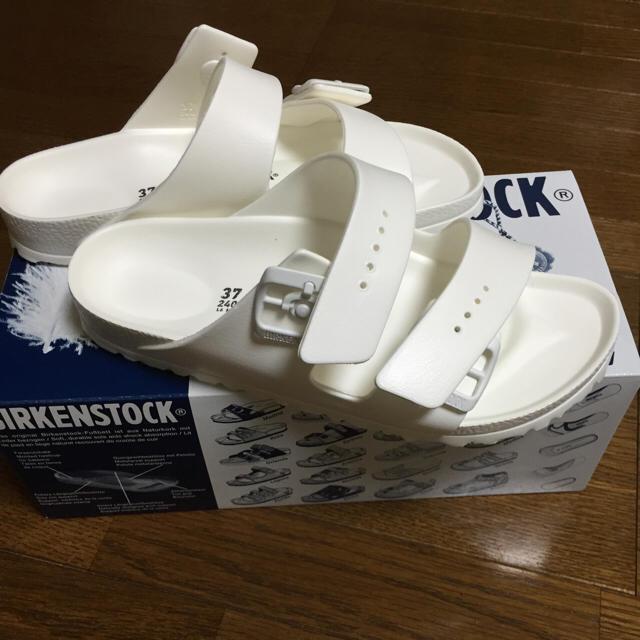 BIRKENSTOCK(ビルケンシュトック)のビルケンシュトック アリゾナ EVA ホワイト レディースサイズ レディースの靴