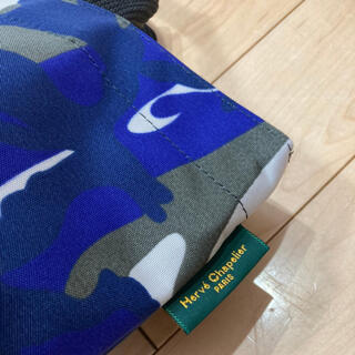 Herve Chapelier - エルベシャプリエ 1027f グリブルー カモフラ 美品