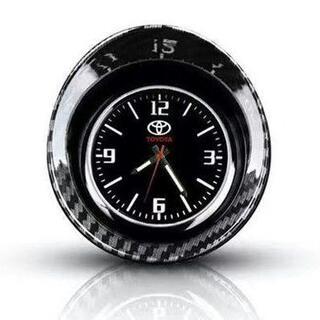 トヨタ車内を飾れるおしゃれな時計です。(車内アクセサリ)