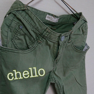 ■使える!chello カジュアルパンツ L