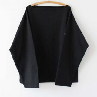 COMOLI - OUTIL TRICOT AAST 20AW BLACK サイズ2 バスクシャツ