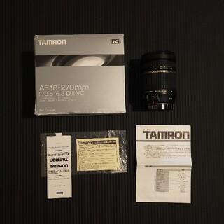 タムロン(TAMRON)のTAMRON AF18-270F3.5-6.3DI(レンズ(ズーム))