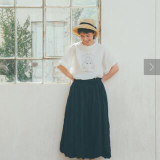 ピュアルセシン(pual ce cin)のpual ce cin ♡ ボイルクリンクルスカート kazumiさん着用(ロングスカート)