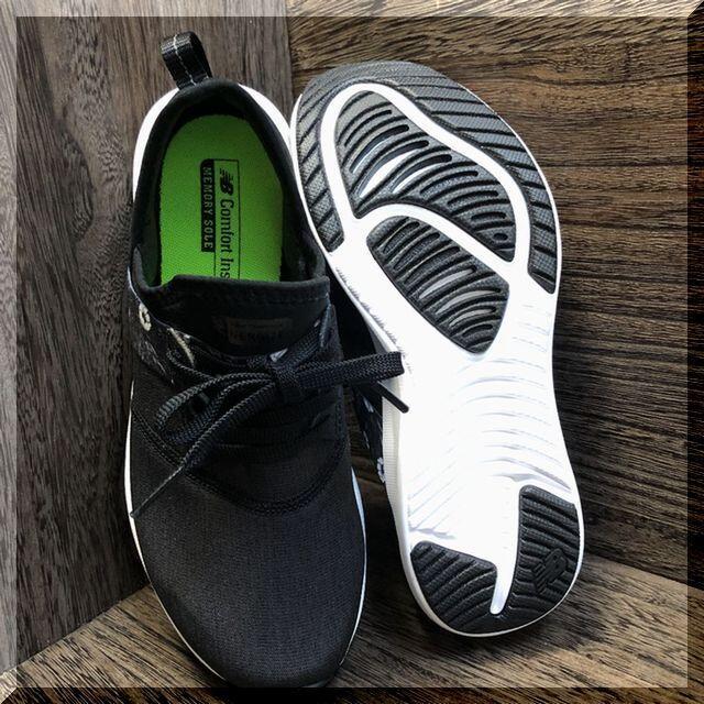 New Balance(ニューバランス)の25.0cm ニューバランス NERGIZE W PK2(ブラック) レディースの靴/シューズ(スニーカー)の商品写真