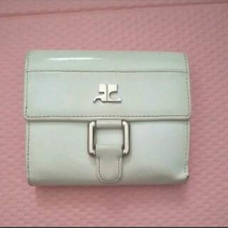クレージュ(Courreges)のクレージュ ホワイト 白 財布(財布)