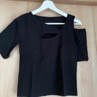 ザラ(ZARA)のZARA ◌ 個性的トップス(Tシャツ(半袖/袖なし))