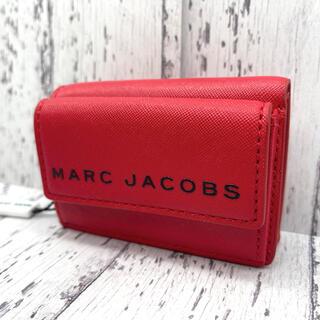MARC JACOBS - ◆新品◆MARC JACOBS マークジェイコブス 三つ折り財布 ミニ財布 赤